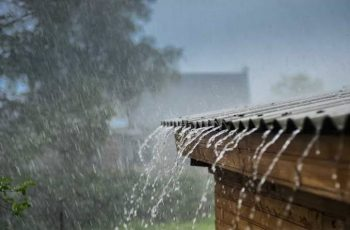 chuva vazamento
